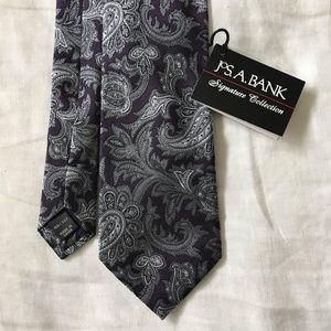 Jos. A. Bank // NWT 100% Silk Tie